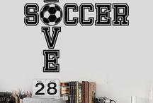 Abes epic soccer room