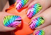 Neon Nail Designs / Neon Nail Designs