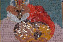 Mosaik-Projekt / Meine Mosaiks