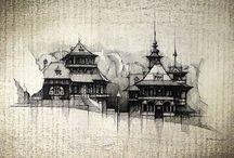 Wood Cottages