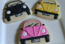 Car, plane, train cookies