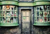 Shop facades / by Michelle Campbell Art