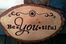 wood burning art ideas