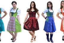 German Dirndls / The finest handmade German Dirndls in the world. / by Ernst Licht Embroidery and Imports