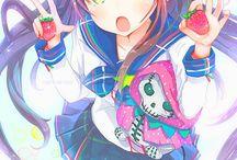 anime & manga / useful poses, colourations, body shapes , clothes, ideas, bg for manga illustrations