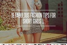 Fashion Tips / Clothing tips for short girls