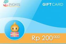 Bingkis Gift Card