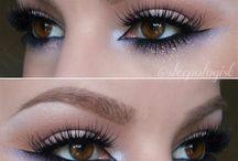 reverse smokey eyes