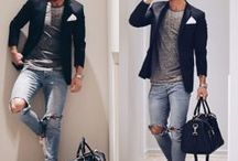 Мужская Мода Casual