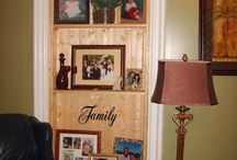 DIY-Heartedly Handcrafted Home Decor by Angela Conklin / Around the house crafts and other projects