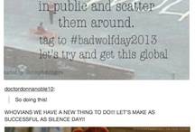 Fandom Calender / If you find anymore fandom holidays, send them to me! / by Ashley143