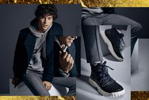 Winter Active - Winter 2016 / Make moves in plimsolls and sneakers designed with a modern edge.