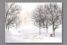 Cardinal Christmas Cards / Personalized cardinal Christmas cards create your card with choice of verse and imprint!
