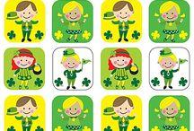 St.Patrick's day...my birthday...