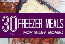 Freezer meals / by Abigail Heath