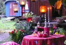 Bohemian Outdoor Spaces