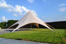 De Starshade / De Starshade is een stervormige tent die steeds populairder is in Nederland.