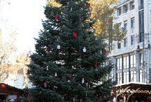 Budapest Christmas Market / Budapest Christmas Market at Vörösmarty Square in 2013.