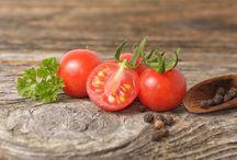 Paahdetut mini tomaatit