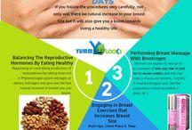 cviky a jedlo na prsia