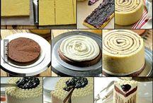 cake and tarts