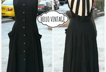 Hello Vintage / Renovated old vintage clothing, acsessories, home decor, low budget vintage lifestyle