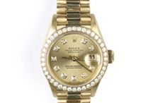 Watches for Her / Pre-owned Rolex, Cartier, Omega, Michele and more!  All at Dallas Gold and Silver Exchange.
