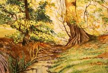 My landscape paintings / Paintings