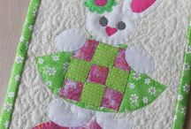 Quilts ~ Easter; Spring; St. Patrick's Day