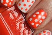 cool painted fingernails/ toe nails