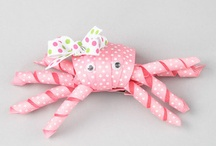 Hair bows and clips / by Pam Garner