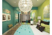 Bedroom idea / Can't wait to redo my room but what should I do...?... / by Erin Hanlon