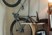 bicycle wall storage
