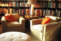 ❖ Bookshelves, Libraries & Bookstores