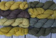 hand dyeing fibre