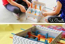 creare con i bambini