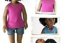 Designs for Karito Kids Dolls / by Cinnamon Miles / Liberty Jane Clothing