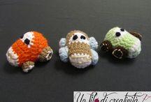 Giochi vari all'uncinetto / Giochi vari fatti a mano all'uncinetto - toys handmade crochet