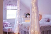 Girls bedroom  / by Stephanie Millsaps