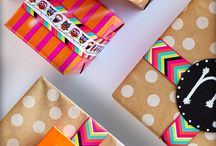 Gift wrapping / by Bobbie Hampton