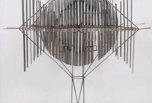 metal - rzeźba - instalacja