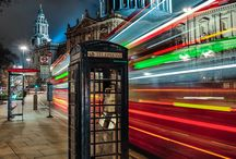 London by Night / London could be the most romantic city in the world when bathed in moonlight.
