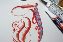 calligraphy - ilumination