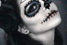 Lou_Maquillage_ halloween / maquillage qu j'utilise pour carnaval, halloween, Noël........