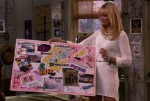 My Vision Board / Saw this on Two Broke Girls. Their's was on cardboard, mine's gonna be here
