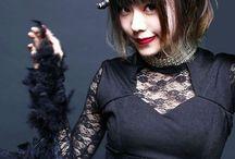 Japanese girl rocker