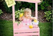 Fun Summer Ideas For Kids / Fun summer ideas for kids, kid summer crafts, boutique children's clothing, Marili Jean