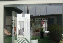 Sala meeting Ceramiche Appia Nuova S.p.A. - Roma / #gresporcellanato #design