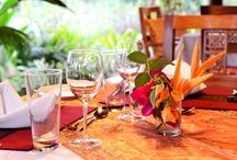Food & Drink at Zanzi Resort... / Gorgeous views are made better with delicious food...