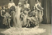 vintage photographs with florals